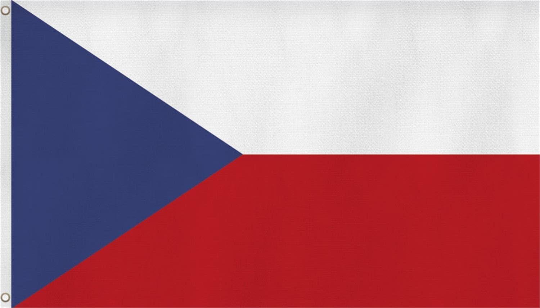 Normani Bandera con Ojales de Latón 90 x 150, 150 x 250 o 300 x 500 cm, Tschechien, 90 x 150: Amazon.es: Deportes y aire libre