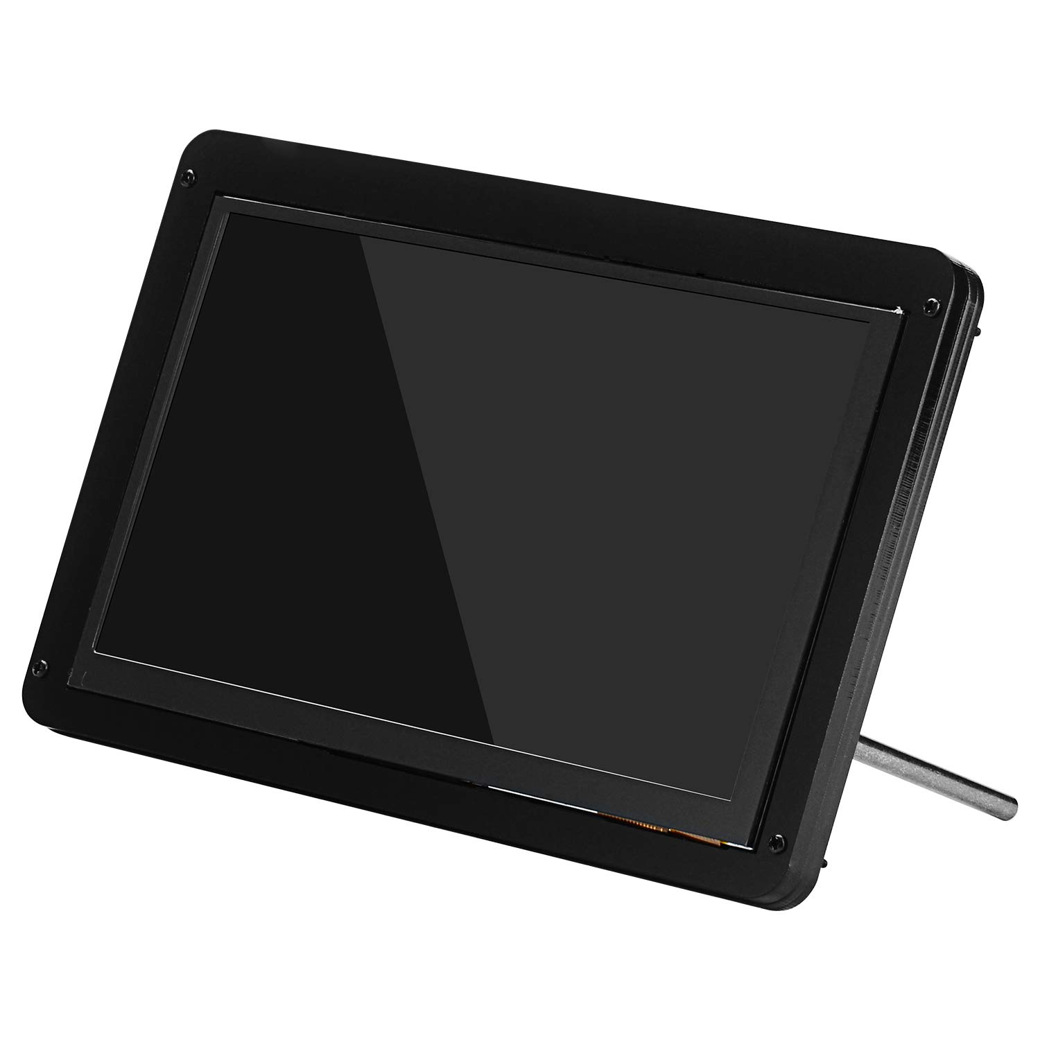 GeeekPi 7 Inch LCD Display Screen Case Acrylic Bracket Holder Cover for 7 Inch 1024x600 Capacitive Touch Screen LCD Display HDMI Monitor DIY Kit
