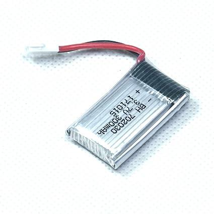 Bater/ía De Helic/óptero De 3,7 V 750 Mah Para Mjx Sky-Viper Fotograf/ía A/érea Uav Para Sp650 Fotograf/ía A/érea Uav Drone Bater/ía