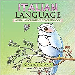 Italian Language An Childrens Coloring Book Amazonde Simone Seams Duy Truong Fremdsprachige Bucher