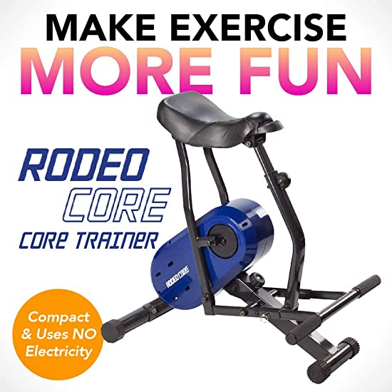 Daiwa U.S. Jaclean USJ-804 Rodeo Core Compact Core Trainer Ab Workout Equipment for Leg Thighs Buttocks Calves Rodeo Core Exerciser