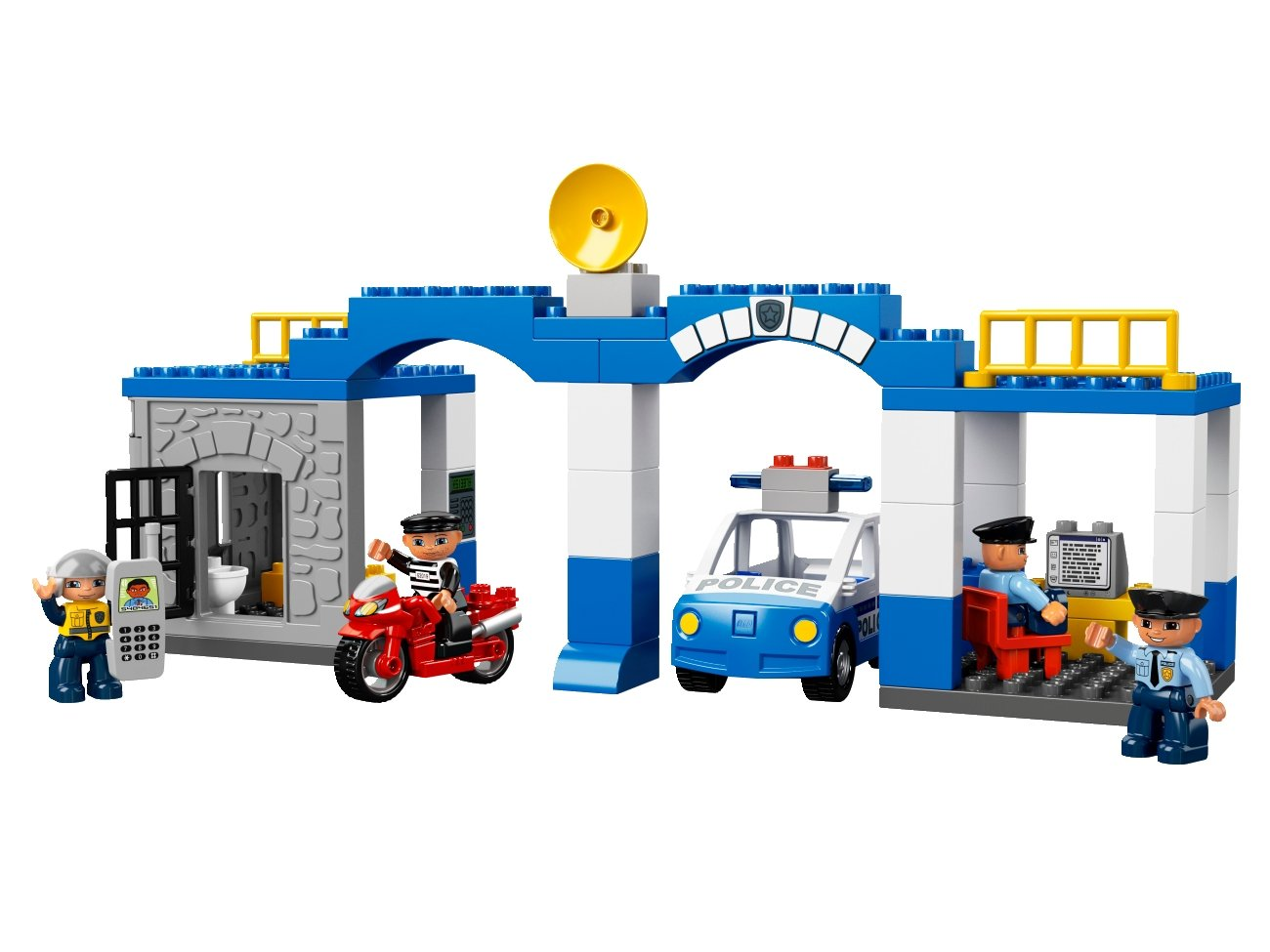 Buy Lego 5681 Police Station Online At Low Prices In India Amazon