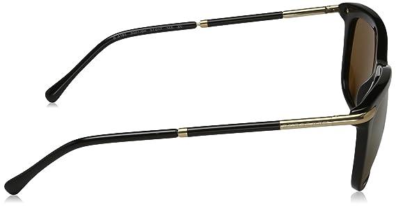 BURBERRY Damen Sonnenbrille BE4185, Violett (Bordeaux Burgundy 34958G), One size (Herstellergröße: 57)