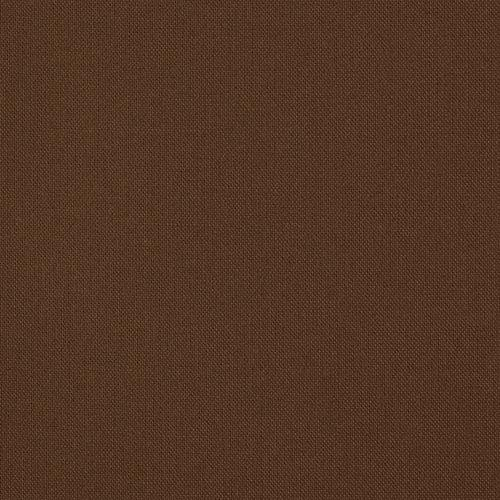 """100% Cotton Fabric Sold by The Yard - 45"""" Wide Solid Colors - Great for Quilting Sewing (Brown)"""