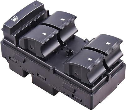 Driver Side Power Window Master Control Switch for Chevy Silverado GMC Sierra Traverse HHR Yukon Buick 25789692 20945129