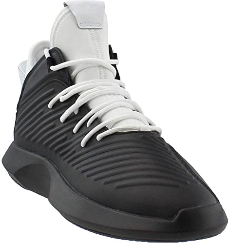 Adidas Crazy 1 ADV Mens AQ0320 White Black Leather Basketball Shoes Size 8