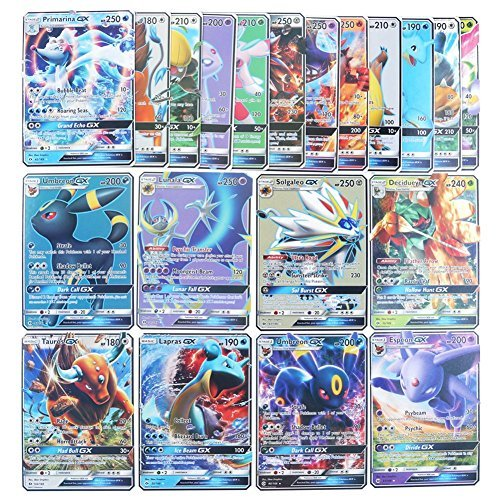 amazoncom 5 total gx pokemon cards ex mega ex or break all ultra rares in each pokemon card lot beauty - Where Can I Sell My Pokemon Cards In Person