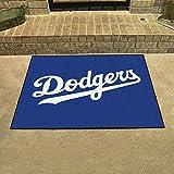 """Los Angeles Dodgers LA Area Rug Floor Mat 34""""x45"""""""