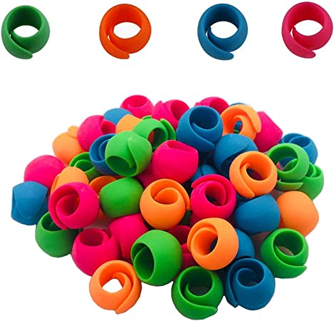 Hulless 20 Pcs Thread Spool Huggers to Prevent Thread Unwinding and Keep Thread Tails Under Control.