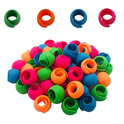 for Embroidery Quilting Serger Sewing Thread Spool Huggers 20 Spool Clamps