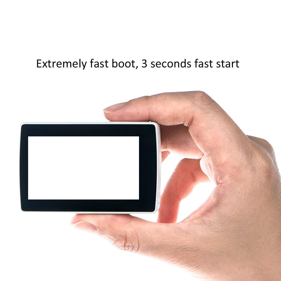 Zinniaya Xiaomi YI 4K Action Sport C/ámara 2.19 Pulgadas Pantalla Retina Ambarella Gran Angular