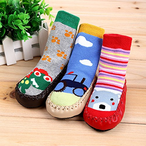 Amazon Com Fashion Boys Girls Kids Toddler Baby Socks Shoes Anti