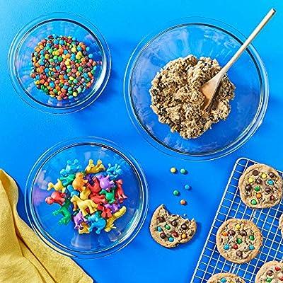 Pyrex Smart Essentials Glass Mixing Bowl Sets