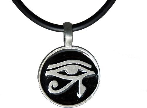 EGYPTIAN EYE OF RA HORUS PENDANT NECKLACE God Egypt Symbol Jewellery Gift Idea