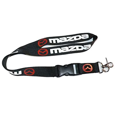 Mazda Lanyard Keychain Holder: Automotive