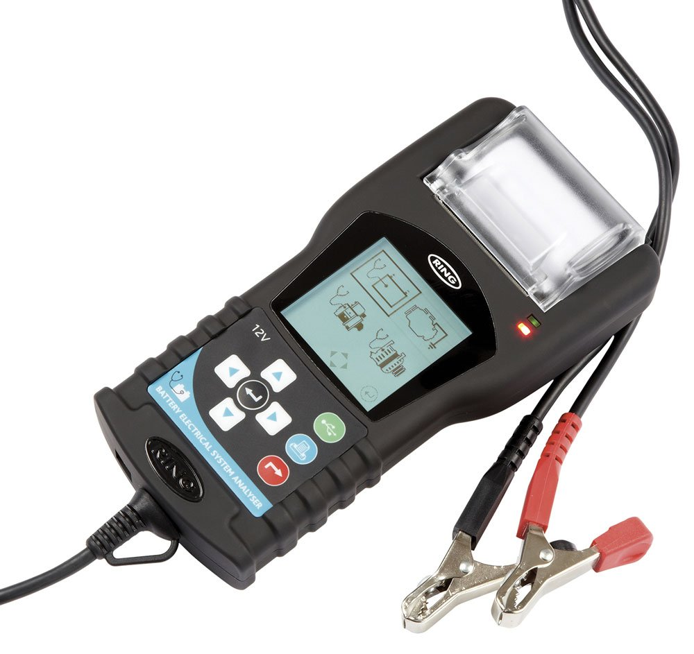 RING AUTOMOTIVE RBAG700 Analizador gráfico de baterías, con ...