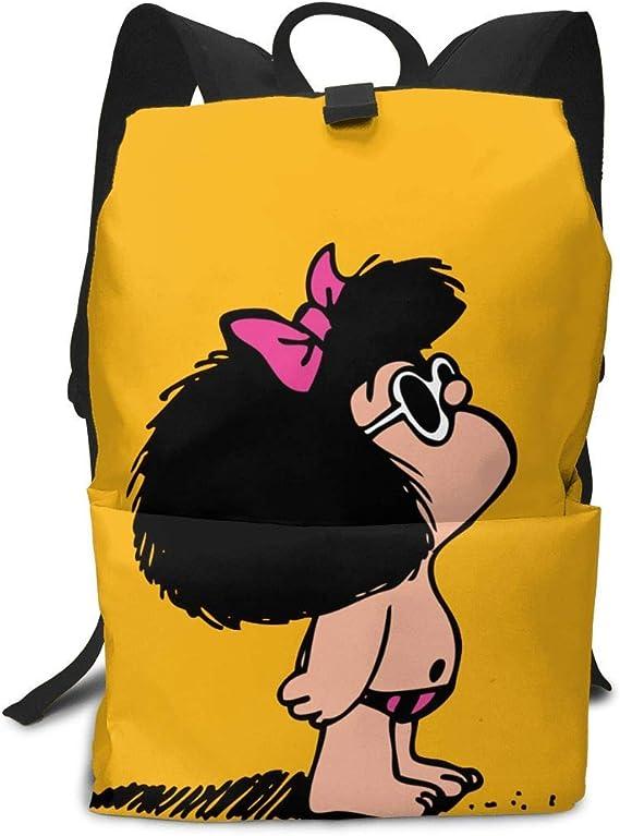 Homebe Mochila Unisex, Mochilas y Bolsas,Lovely Toda Mafalda Printed Primary Junior High School Bag Bookbag: Amazon.es: Equipaje