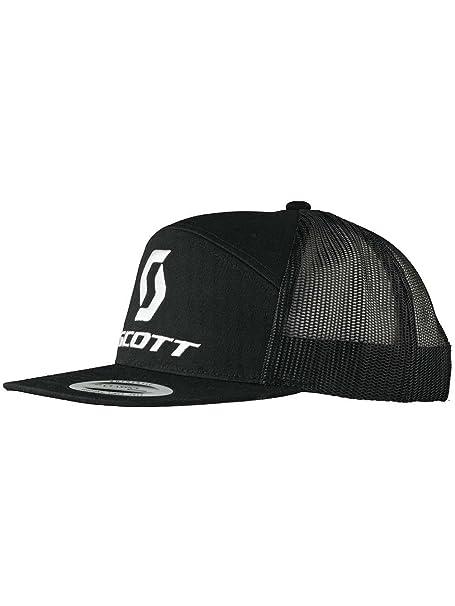 Scott Cap Gorra 10 Negro/Blanco, Unisex, Negro, talla única