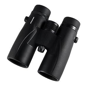 Wingspan Optics Skyview Pro Ultra HD 10X42 High Powered Binoculars for Bird Watching
