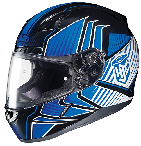 HJC CL-17 Redline Full-Face Motorcycle Helmet (MC-2, X-Large) (Redline 2 Cycle compare prices)
