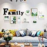 Photo Wall Bedroom Murals Minimalistic Backgrounds Portfolio Photo Frames Creative Accessories ( Color : Pattern 1 )