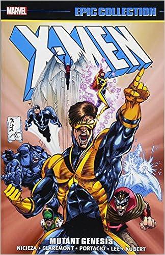 Amazon X Men Epic Collection Mutant Genesis 9781302903916