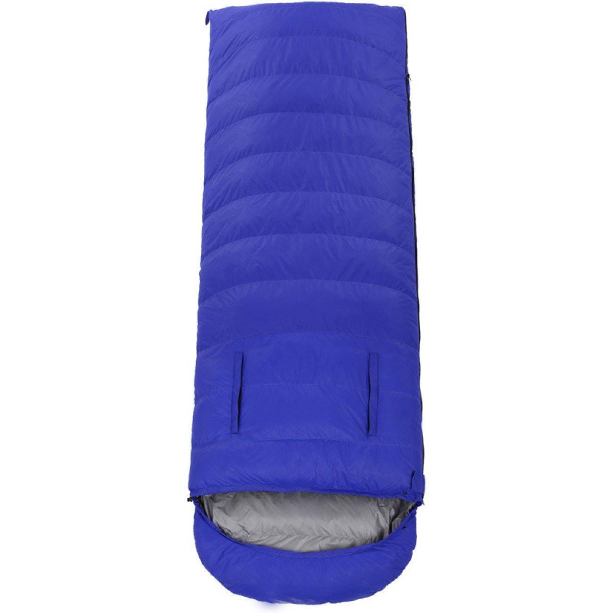 Addora Tragbar Kompressionsbeutel Die Hand Aus Schlafsäcken Umweltfreundlich Blau
