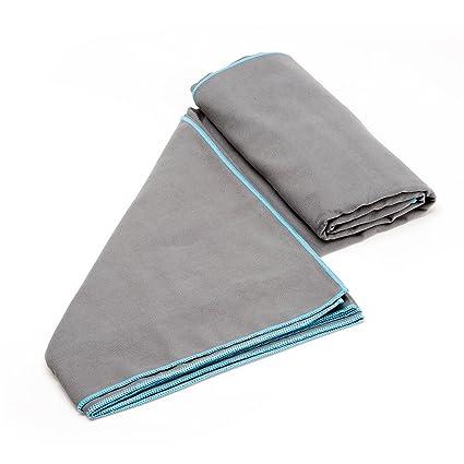 Toalla de microfibra deportes, secado rápido, ideal para acampar, gimnasio, playa,