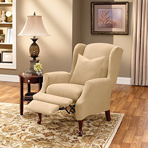 Buy wingback recliner chair slipcover