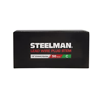 Steelman JSPG8 1/4-Inch Tire Repair Pull Through Plug with Lead, Box of 50: Automotive