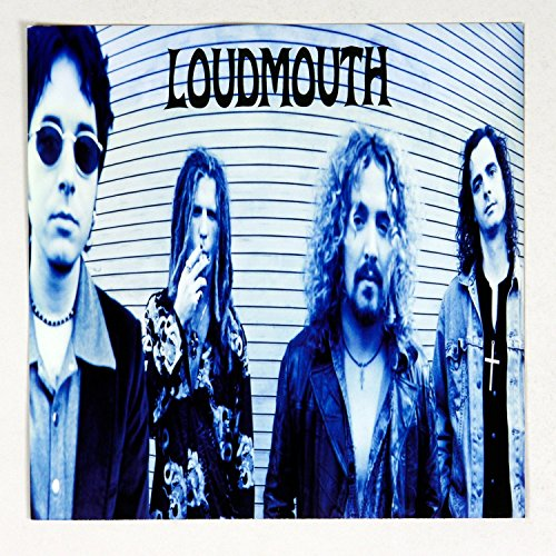 loudmouth-self-titled-1999-debut-album-promo-12x12-poster-flat-4-sided