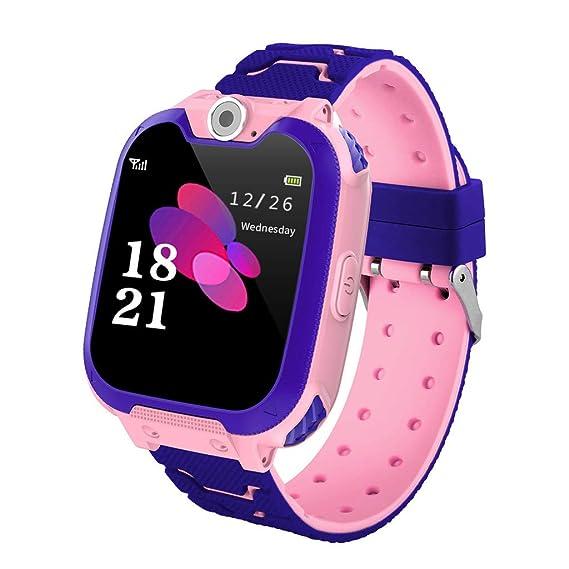 Teléfono Inteligente Niña Smartwatch Cámara Juegos Pantalla Táctil ...