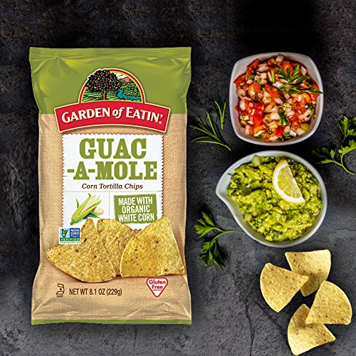 Amazon.com : Garden of Eatin Guacamole Tortilla Chips, 8.1 oz. (Pack of 12) : Grocery & Gourmet Food