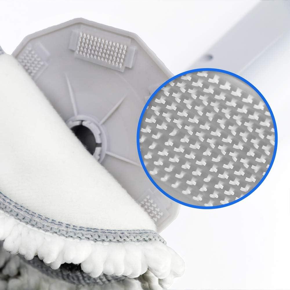 Masthome Mopp avec Vaporisateur 360 degr/és avec Manche t/élescopique Flexible 500 ML