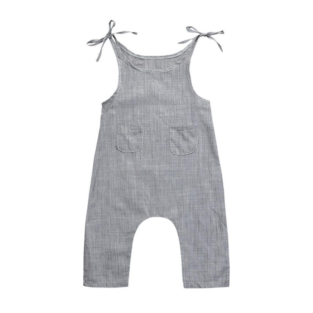 c84946d9c68a Material:Linen♥ Xmas Apparel Baby-Girls Sleeveless Tassel Romper + Headband Baby  Baby Girls\' Organic Stripe Zip Front Non-Slip Footed Sleeper ...