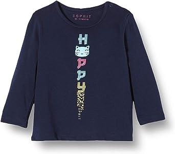 ESPRIT T-Shirt LS Maglia a Maniche Lunghe Bambina