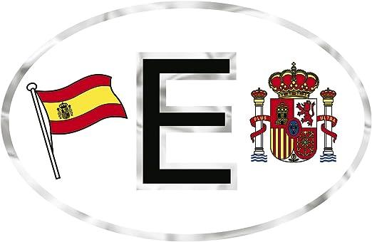 301157) de PVC Pegatinas – Bandera de España S Escudo – Talla ...