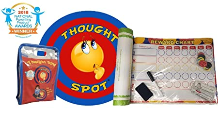 Thought-Spot – Reward Chart A Portable Parenting Time Out Mat Made from Recyclable Non-Toxic Materials