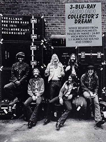 Blu-ray Audio : The Allman Brothers Band - 1971 Fillmore East Recordings (3 Disc)