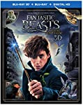 Cover Image for 'Fantastic Beasts and Where to Find Them (3D + Blu-ray + DVD + Digital HD + UltraViolet)'