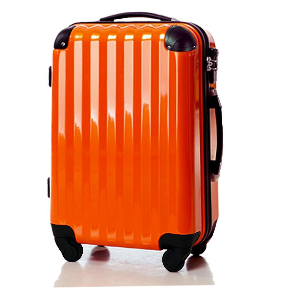 スーツケース大型超軽量LサイズTSAロック搭載 6202L アウトレット新品 B00N9SUDCU オレンジ オレンジ