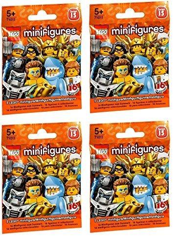 LEGO Series 15 Minifigures Random Pack of 4 (71011)