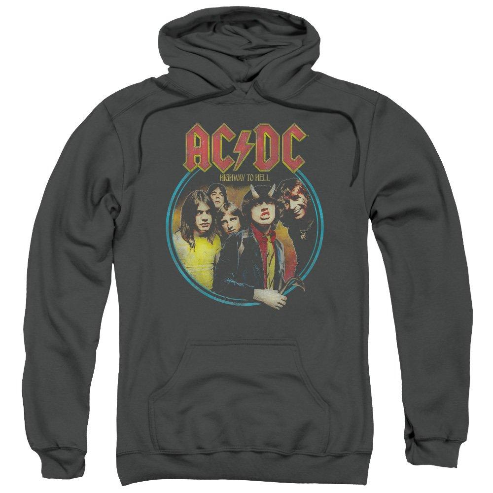 AC/DC - Sudadera con capucha - para hombre negro gris oscuro Large: Amazon.es: Ropa y accesorios