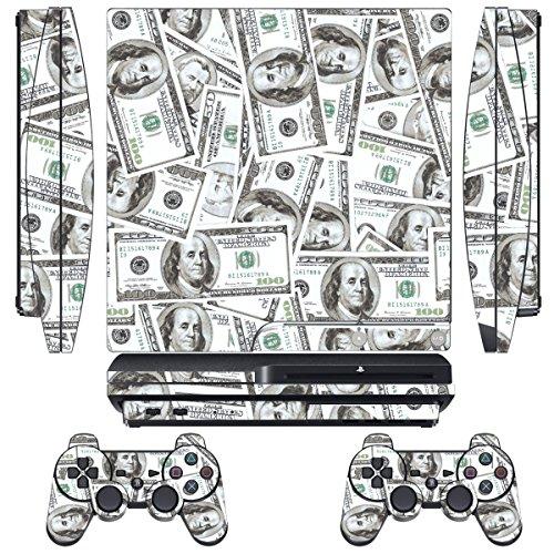 Designer Skin for Sony PlayStation PS3 SLIM System & Remo...