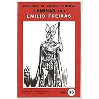 Lecciones de Dibujo Artístico. Láminas por Emilio Freixas Serie 20