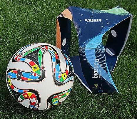 Amazon.com : TOP 2014 World Cup Memento FIFA Brazuca Match ...