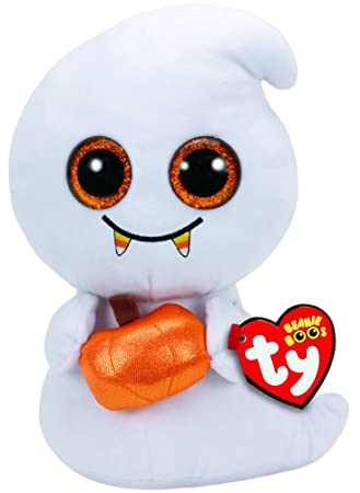 Ty Beanie Boos Halloween Scream-Fantasma 23 cm (37147TY) (United Labels Ibérica