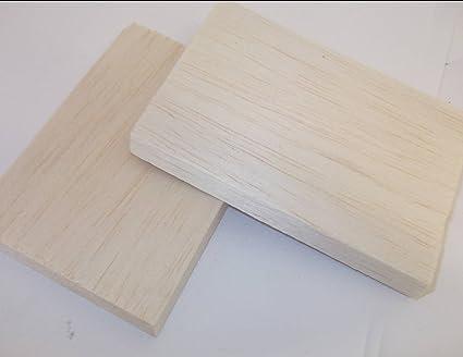 Bloque de madera para maquetas de 15 x 3 x 3 pulgadas, 2 ...