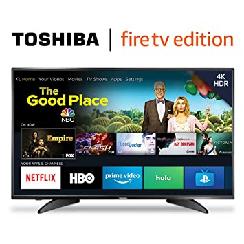 3a2ad2b0 Amazon.com: Toshiba 50LF621U19 50-inch 4K Ultra HD Smart LED TV HDR - Fire  TV Edition: Electronics