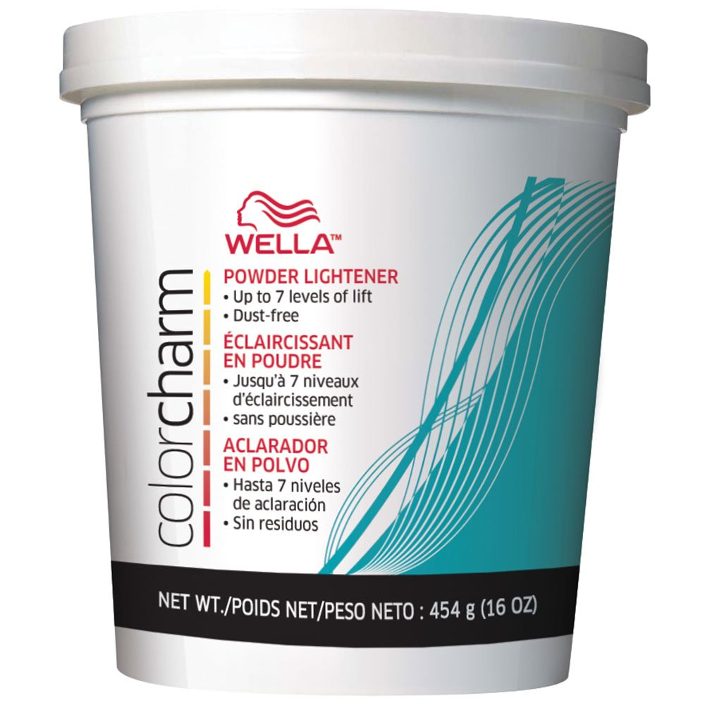 Wella - Color Charm Powder Lightener, Dust free formula, 16 oz/454 g WELLA/PROCTOR & GAMBLE 9309